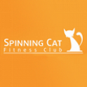 Spinning Cat fitness club